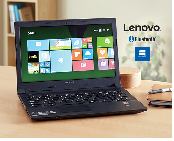 15.6Inch Idea Pad Notebook with Windows 8.1 by Lenovo
