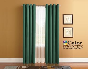 Color Connection Thermal Draperies