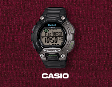 Men's Bluetooth Watch with Canvas Strap by Casio