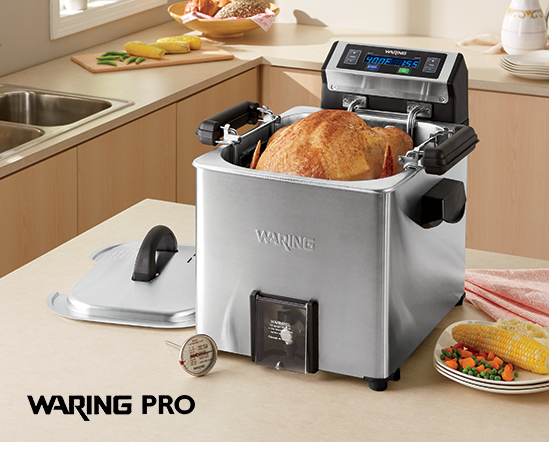Turkey Fryer, Rotisserie and Steamer by Waring