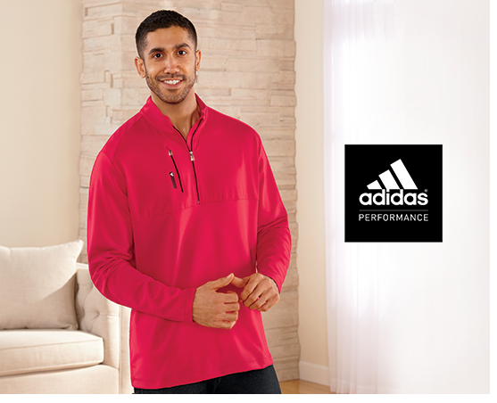 1/4-Zip Jacket by Adidas
