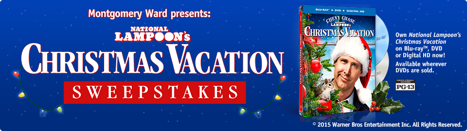 National Lampoons Christmas Vacation Sweepstakes