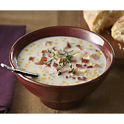 Corn Chowder with Baked Ham