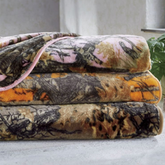 Camo Plush Blanket - Shop Blankets & Throws