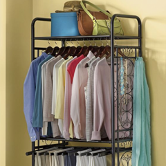 Metal Clothes Organizer - Shop Accent Furniture
