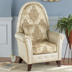 Antiquity Flourish High-Back Chairs - Shop Chairs & Chaises