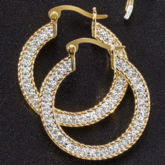 Flat Hoops - Shop Earrings