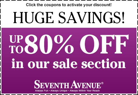 Save up to 80% in our sale section!