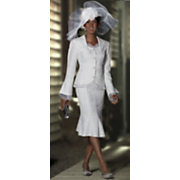 Vivianna Skirt Suit and Hat