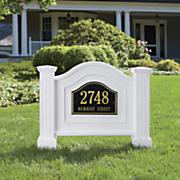 Nantucket Address Stand