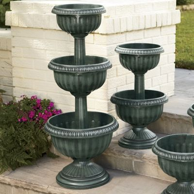 Three-Tier Urn