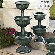 three tier urn