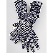 houndstooth stretch glove