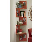 bright corner shelf
