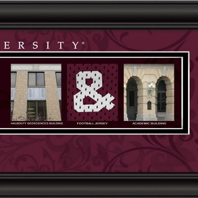 Personalized Campus Letter Art