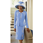Dominique Jacket Dress and Hat
