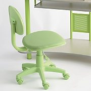 child sized lime desk chair