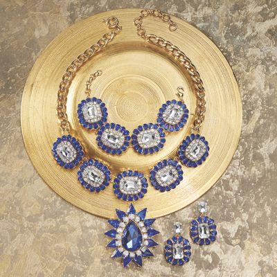 Crystal Frame Necklace
