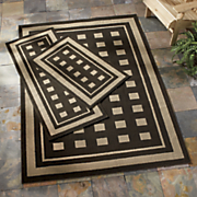 3 Piece Manorville Indoor Outdoor Rug Sets