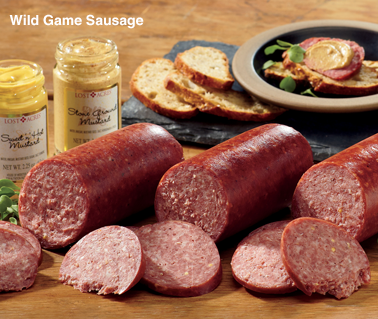 Wild Game Sausage - Shop Sausage
