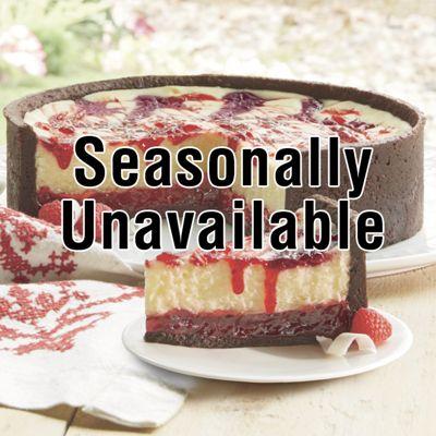 White Raspberry Cheesecake