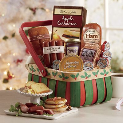 Holly Breakfast Basket