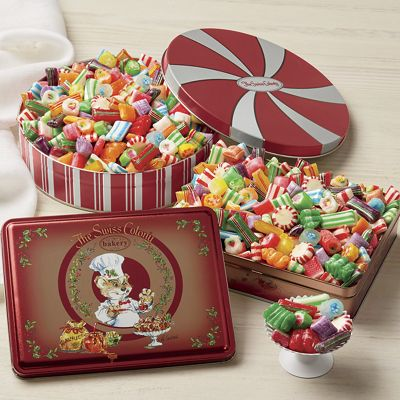 Old-Fashioned Christmas Candy from The Swiss Colony | AW015