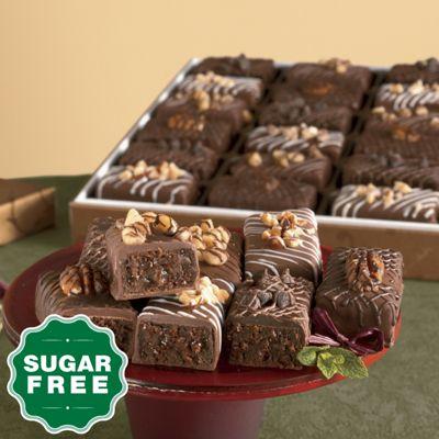 Sugar-Free Gourmet Brownies