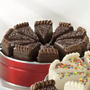 Chocolate Fudge Pie Slices