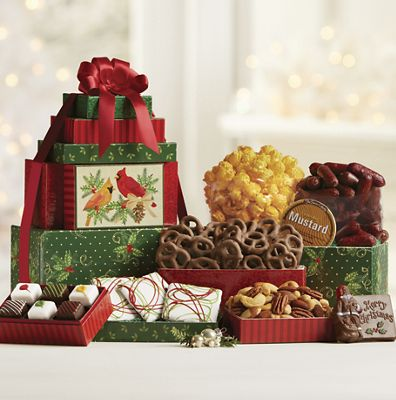 Gift baskets boxes food gift baskets swiss colony cardinal tower 32 negle Choice Image