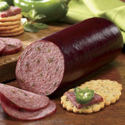 Jalapeño Summer Sausage