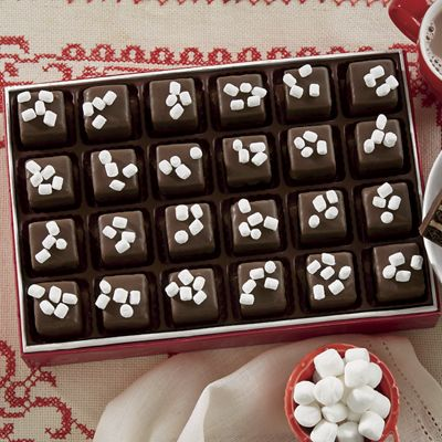 Hot Chocolate Petits Fours