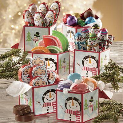 Snowman Candy Boxes