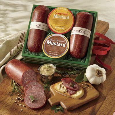 Wild Game Sausages & Mustards