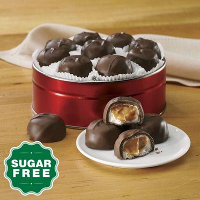 Sugar-Free Caramel Marshmallows