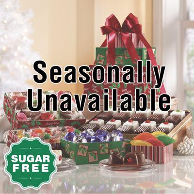 Sugar Free Holiday Tower