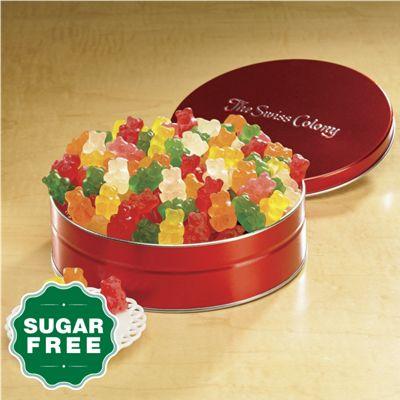 Sugar-Free Gummy Bears Gift Tin