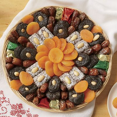 Holiday Fruit Gift Tray