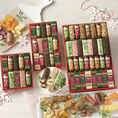 Holiday Bars & Logs Food Gift