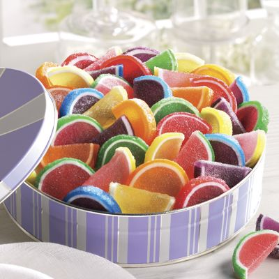 Spring Fruit Gel Slices