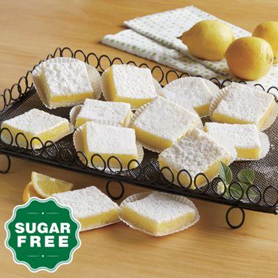 Sugar-Free Lemon Bars