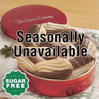 Sugar-Free Dipped Finger Cookies