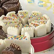 Birthday Cake Pie Slices