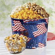 Patriotic Popcorn Tin