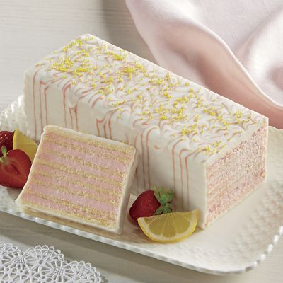 Strawberry Lemonade Dobosh Torte