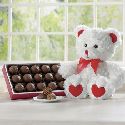 Plush Bear & Truffles