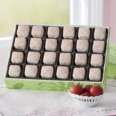 Strawberry Shortcake Petits Fours