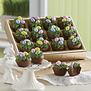 Easter easter food gifts easter presents swiss colony easter nest brownie puffs negle Gallery