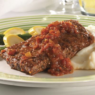 Swiss Steak with Chef Wave's Sauce