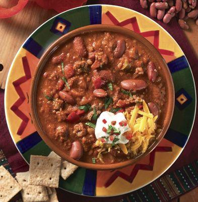 Sensational Savory Soups—Beef Chili